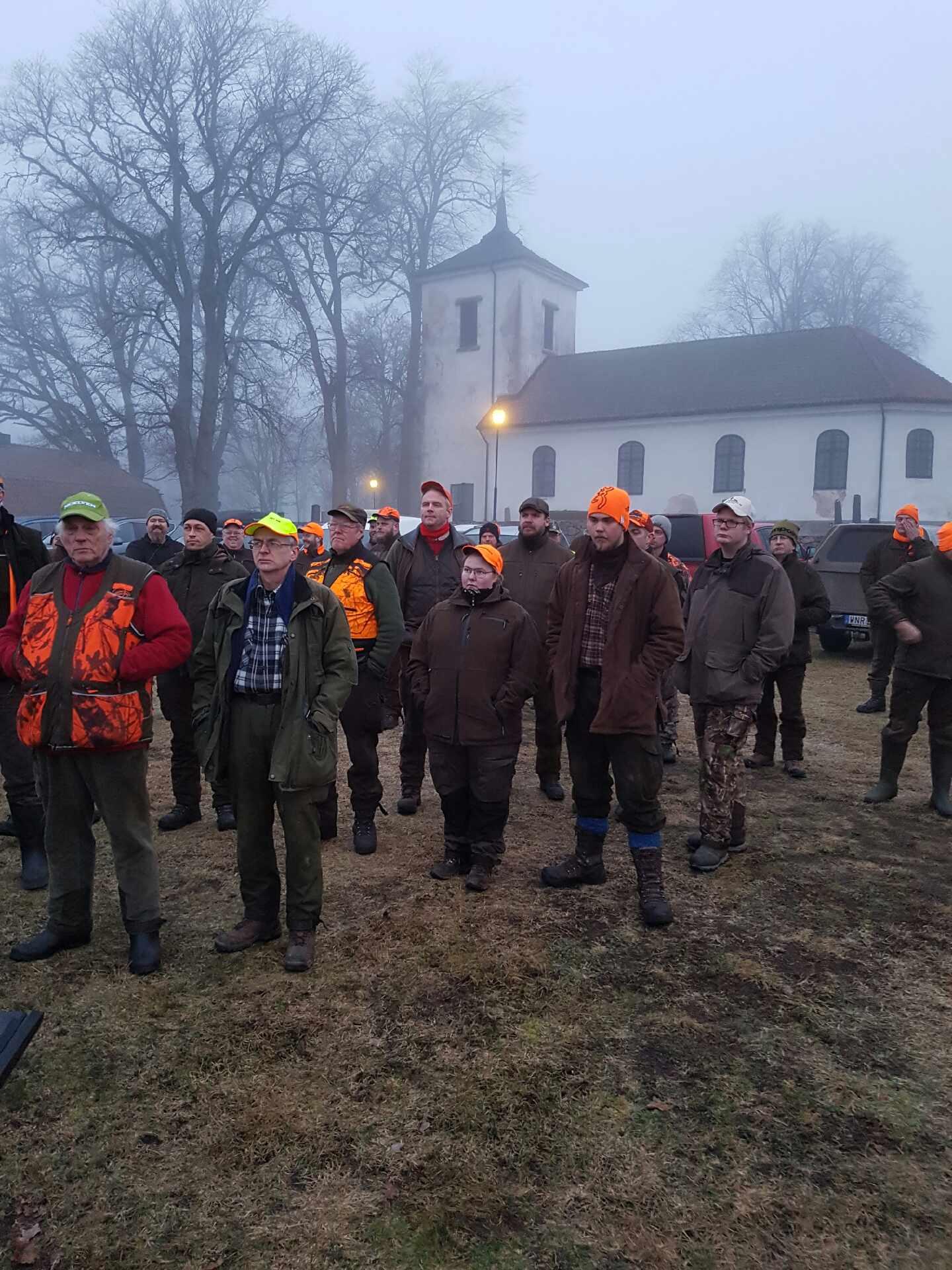 Rävjakt på Stora Ek, 17-19 februari 2017.